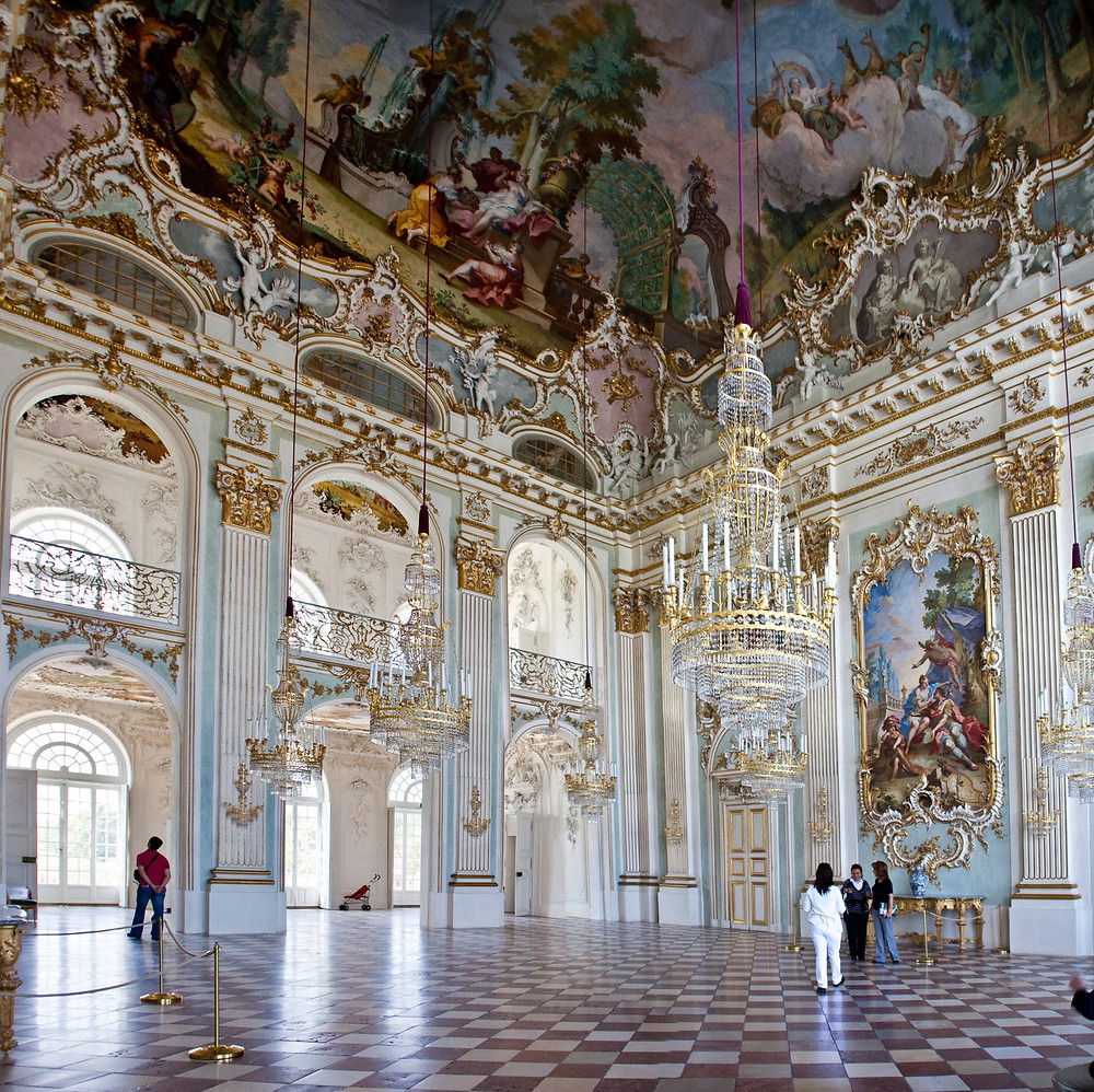 Stone Hall in Nymphenburg Palace