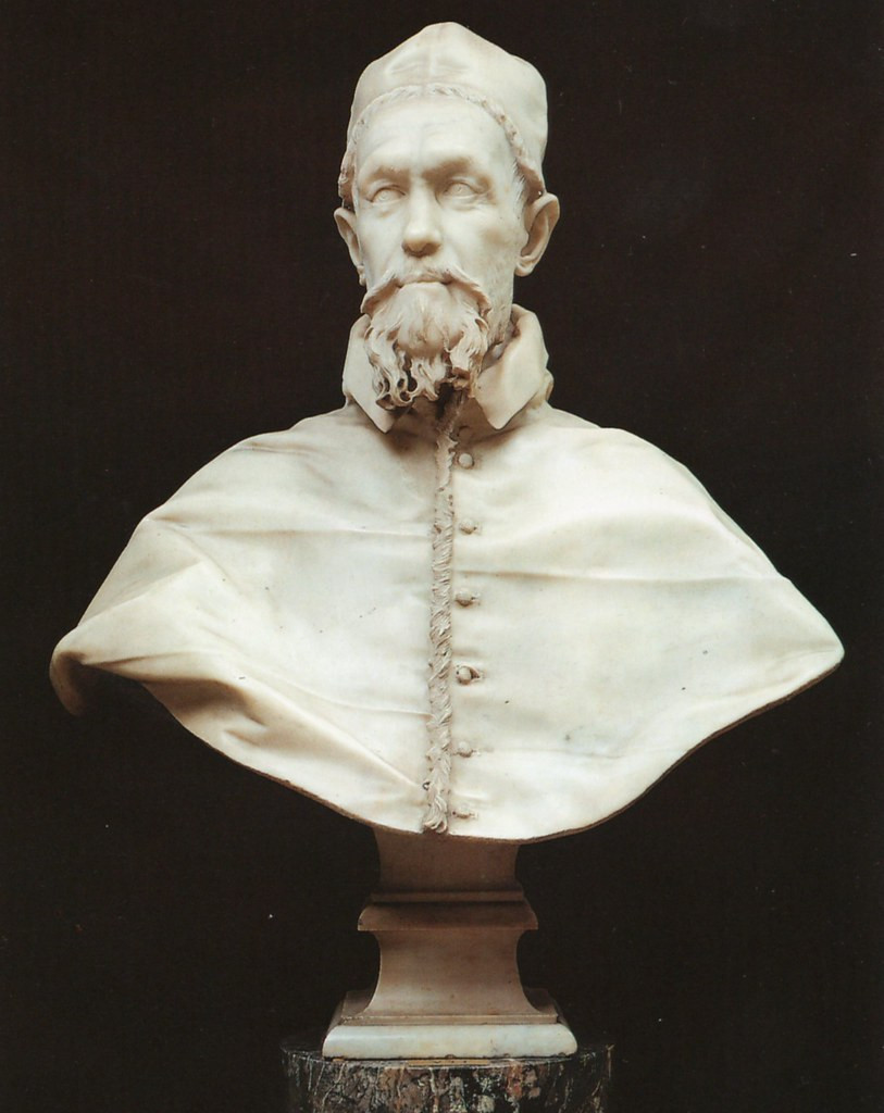 Bernini, Bust of Innocent X, 1650