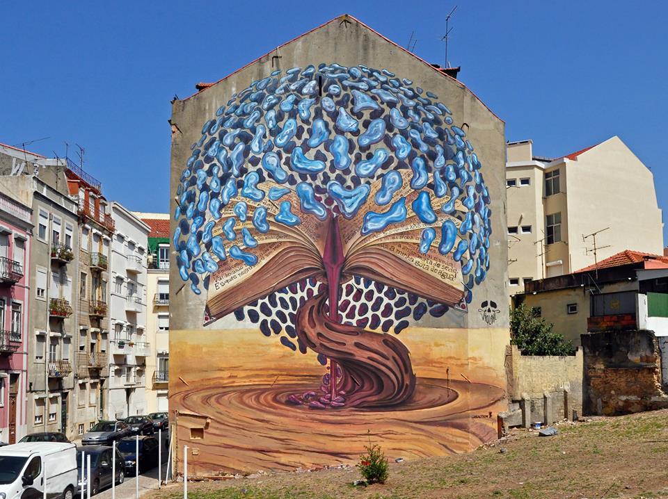 street art, Brainstorming, in Graça by João Maurício