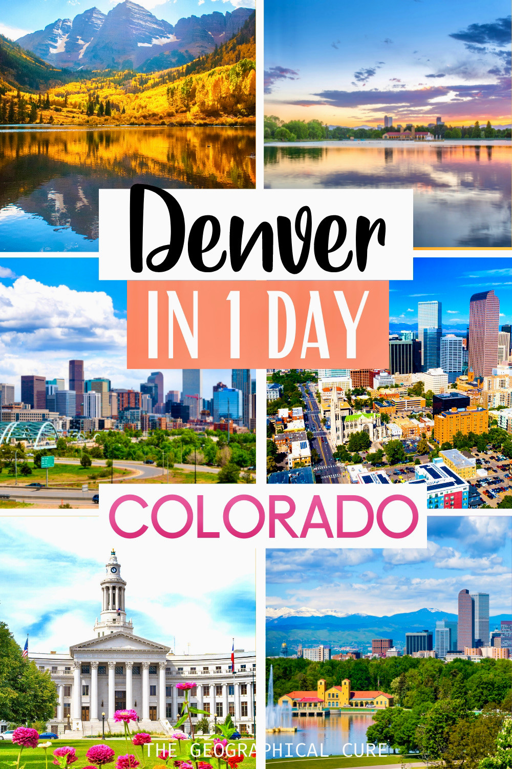 ultimate guide to spending one day in Denver Colorado