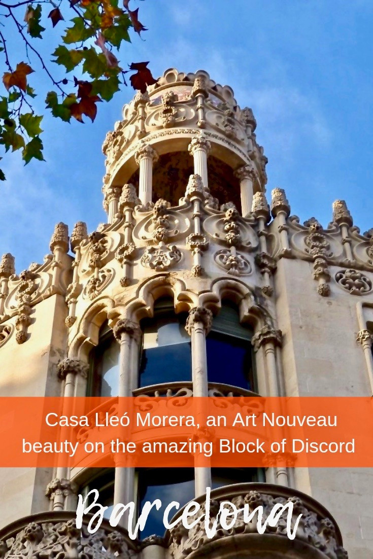 Casa Lleó Morera on Barcelona's Block of Discord
