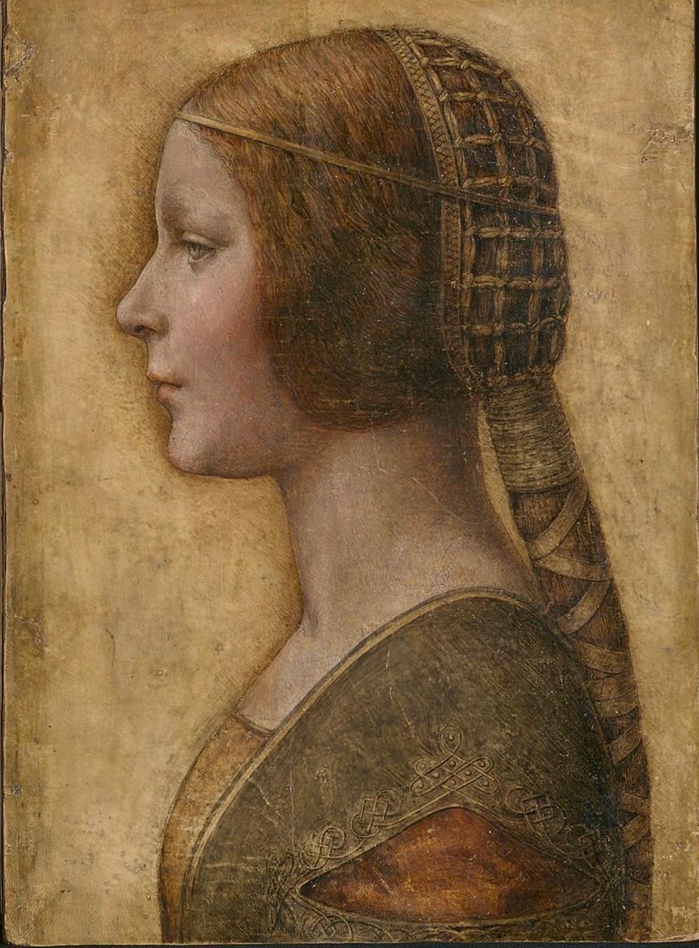La Bella Principessa, circa 1480-90 -- a possible Leonardo