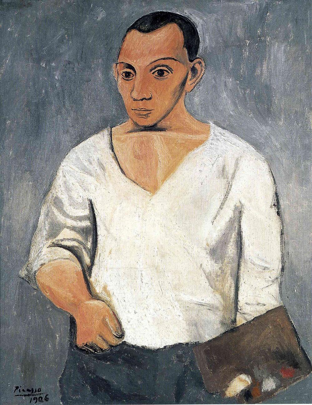 Picasso, Self Portrait, 1906