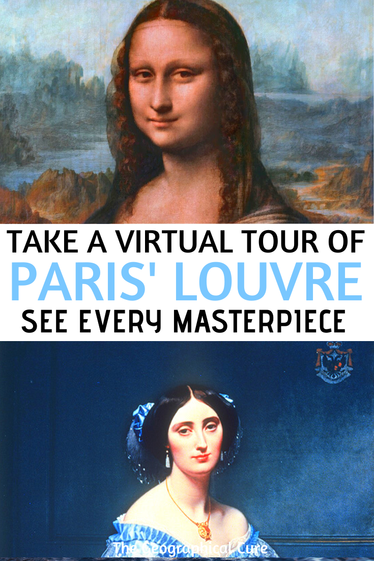 How to take a virtual tour of the Louvre in Paris and see every masterpiece