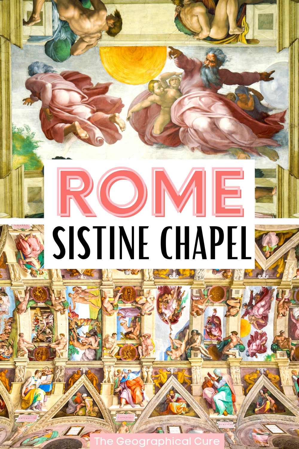 ultimate guide to Michelangelo's frescos in the Sistine Chapel in Vatican City