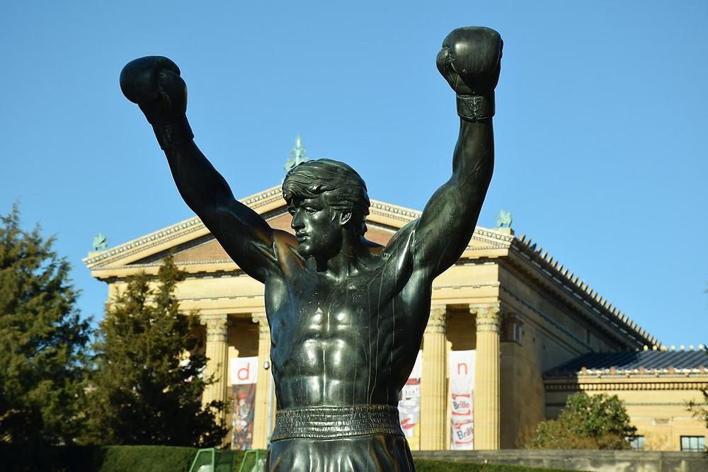 Rocky Balboa statue outside the Philadelphia Museum of Art