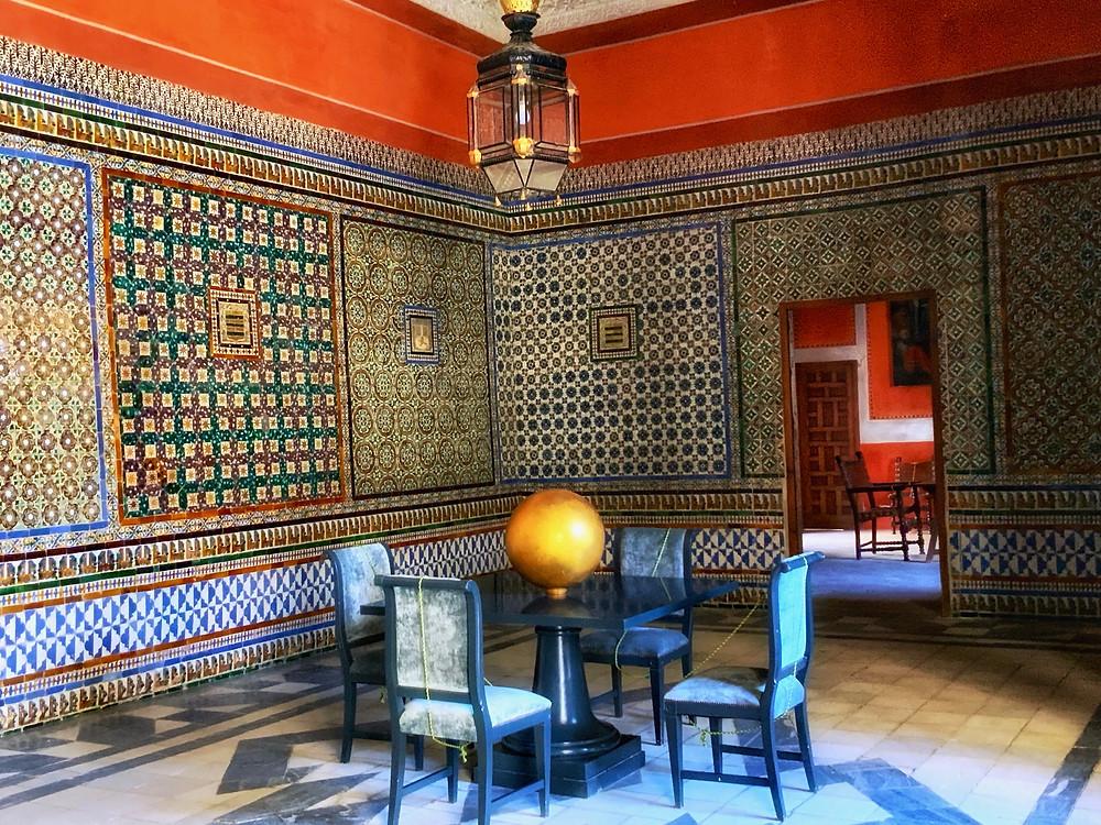 the Judge's Rest Room in Casa de Pilatos