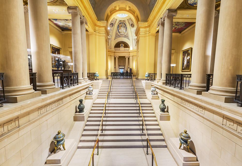 interior of the Boston Museum of Fine Art