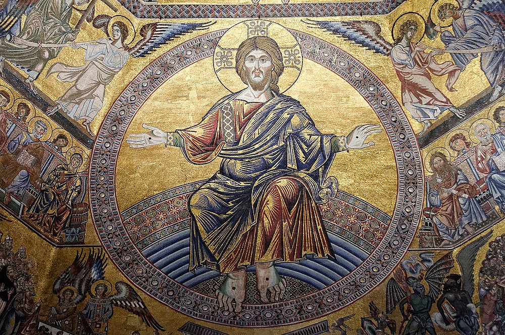 mosaics in Florence's Baptistry
