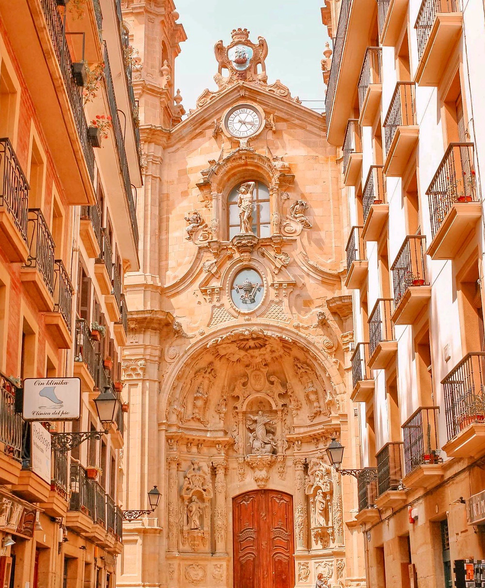 Basilica of Saint Mary of the Chorus in San Sebastian