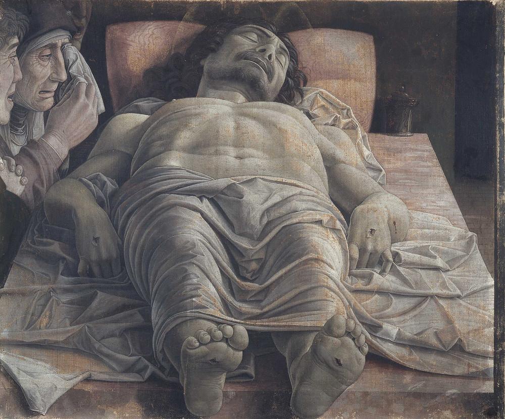 Andrea Mantegna, Lamentation of Christ, 1480