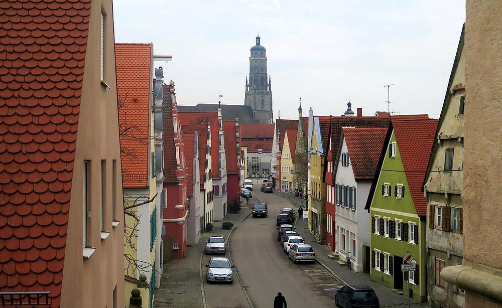 main street of medieval Nordlingen