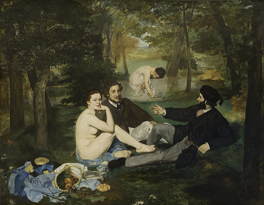 Edouard Manet, Luncheon on the Grass, 1863
