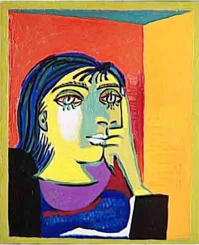 Portrait of Dora Maar, 1937, by Picasso
