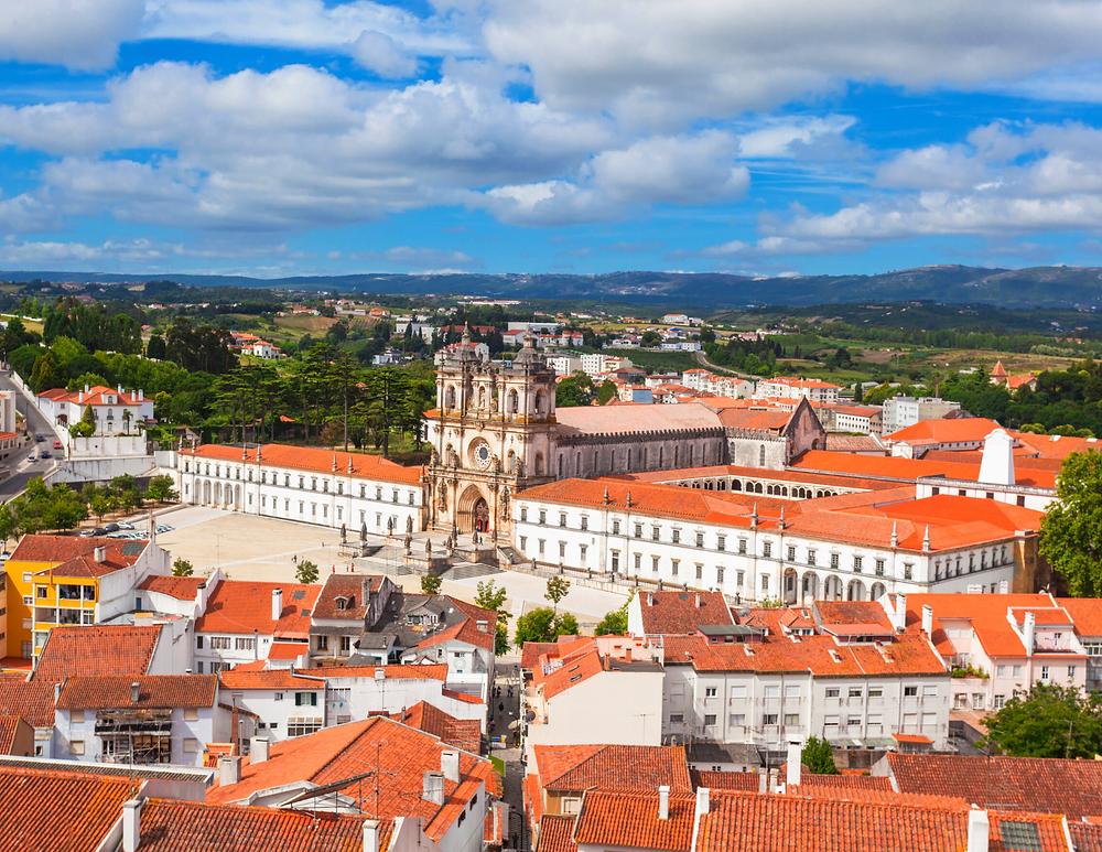 Alcobaça Monastery in Portugal, outside Lisbon