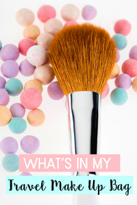What To Pack in Your Travel Make Up Bag