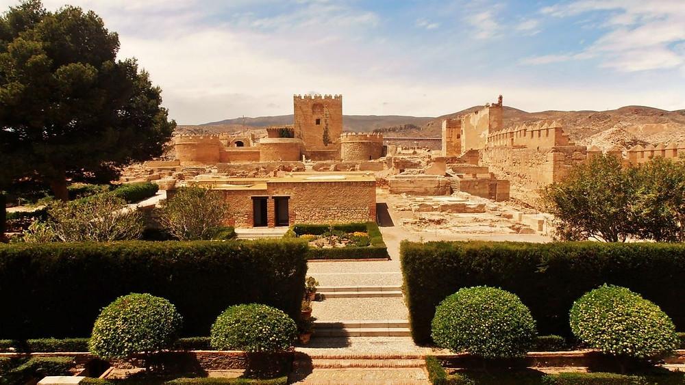 the Almeria Alcazaba