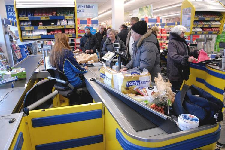 grocery store in Germany