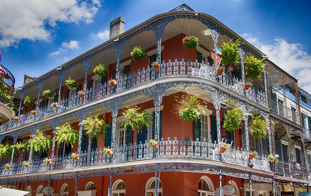 LeBranche House, a New Orleans Landmark