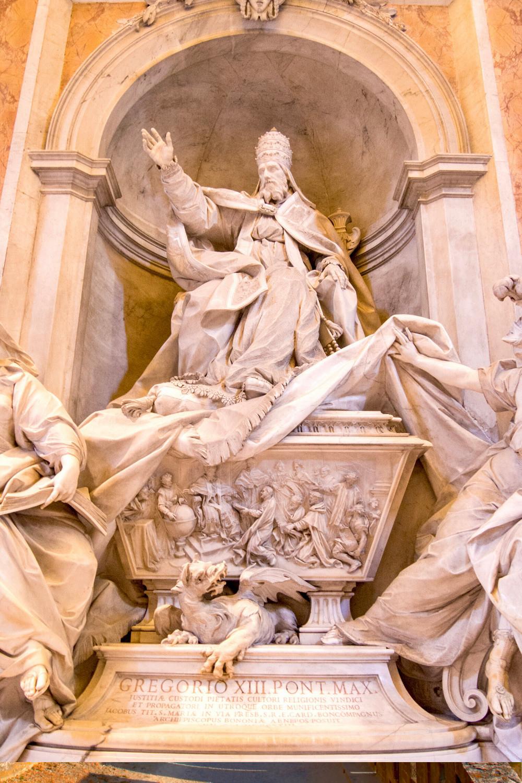 Bernini sculpture of Pope Urban VIII
