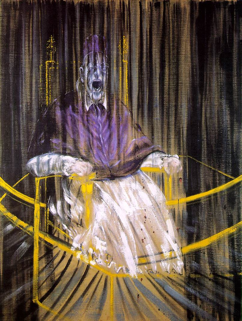 Francis Bacon, Screaming Pope, Study After Velázquez's Portrait Of Pope Innocent X, 1952