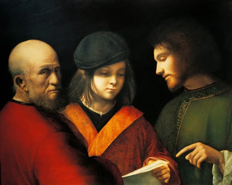 Giorgione, The Three Ages of Man, 1500-01