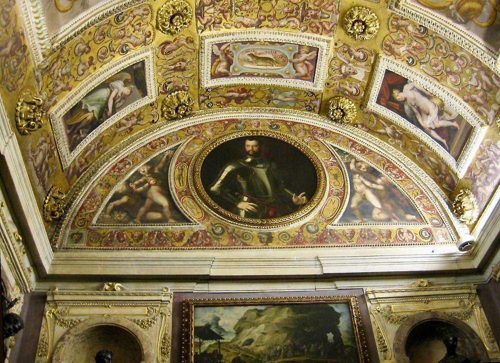 paintings in the studio of Francesco I