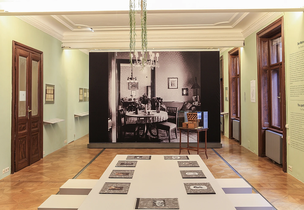 dining room inside the home, now museum, of Sigmund Freud © Oliver Ottenschlaeger