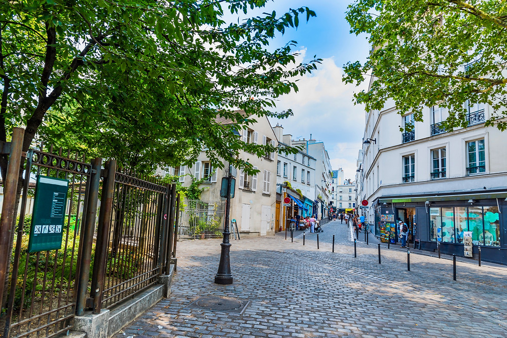 Abbesses Square in Montmartre