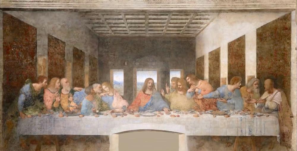Leonardo da Vinci, The Last Supper, 1495-98