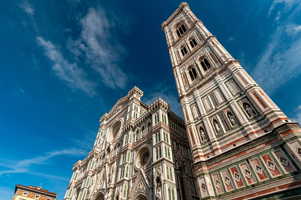 Florence Cathedral and the Giotto Bell Tower