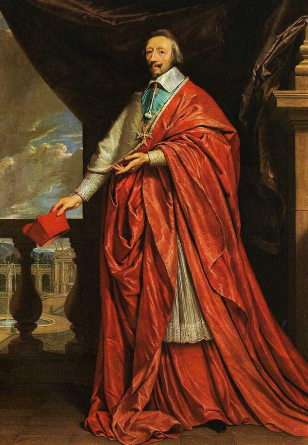 Phillipe de Campaigne, Cardinal Richelieu, 1640