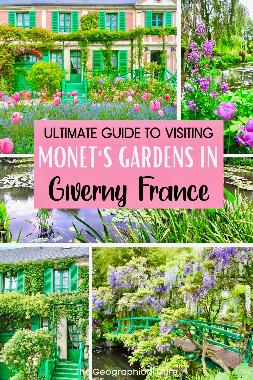 guide to Monet's house and gardens in Giverny France