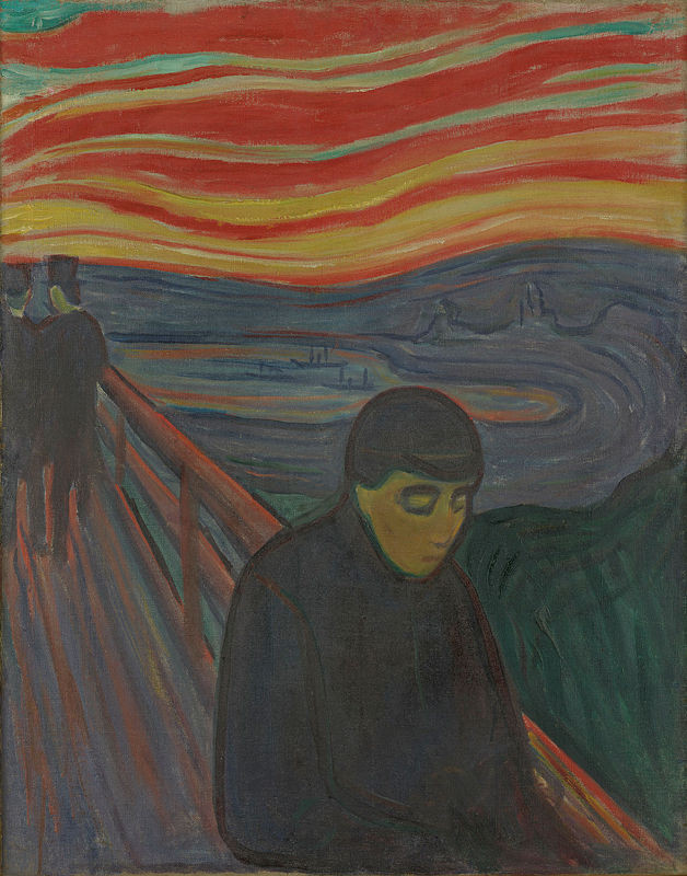 Edvard Munch, Despair, 1894