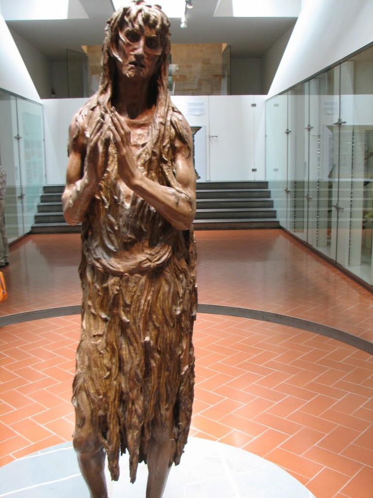 Donatello, Penitent Magdalene, 1455