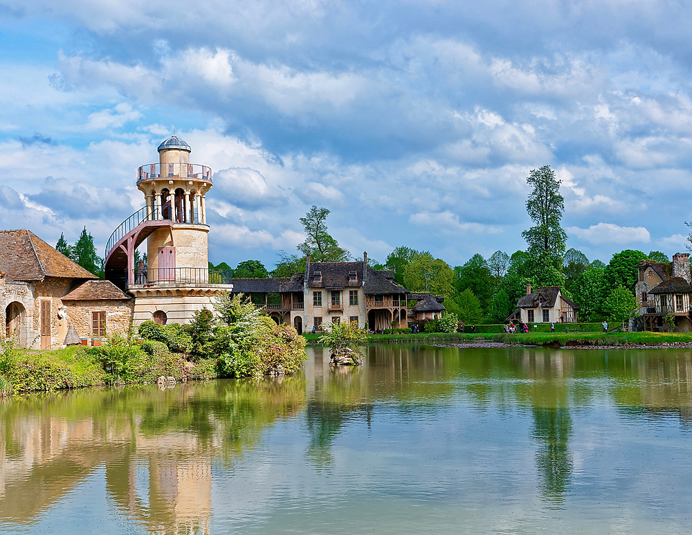 Marie Antoinette's country village at Versailles