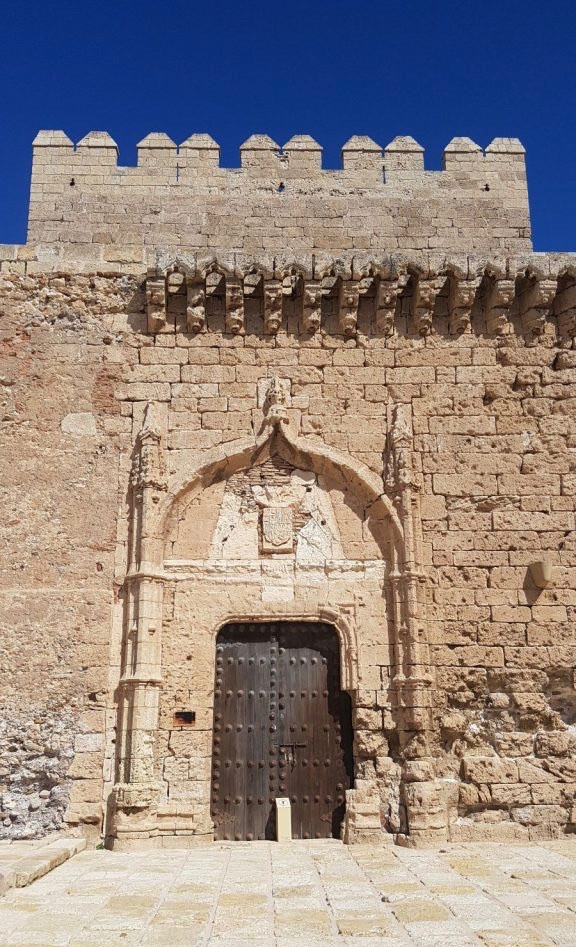 impressive entrance to the Tower of Homage