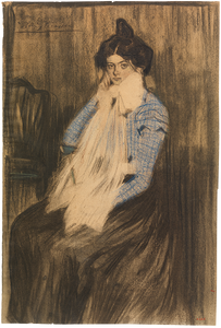 Pablo Picasso, Lola the Artist's Sister -- Picasso painted this when he was 13