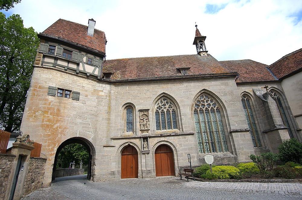 St. Wolfgang's Church in Rothenburg ob der Tauber