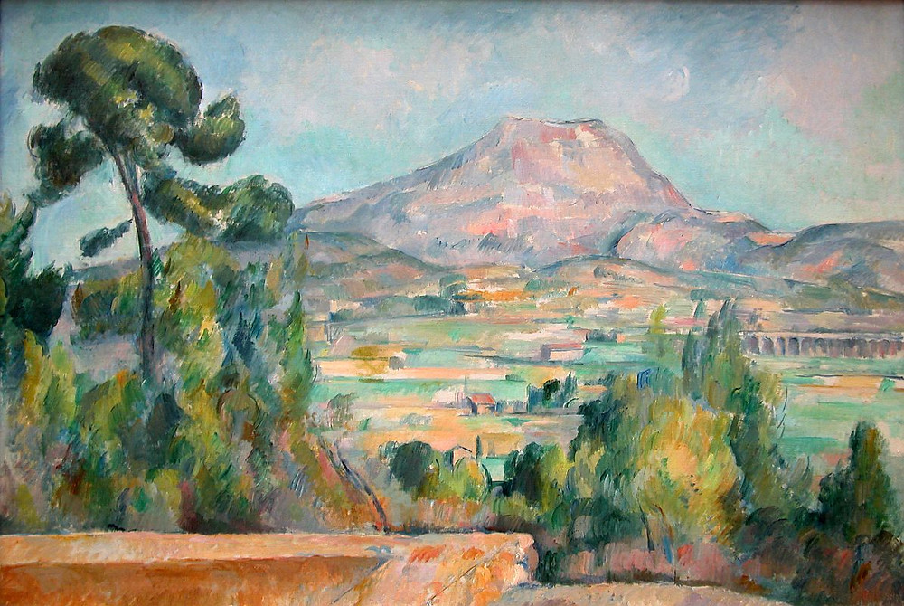Paul Cezanne, Mount Saint Victoire, 1890