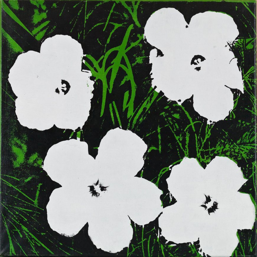 Andy Warhol, Flowers, 1964