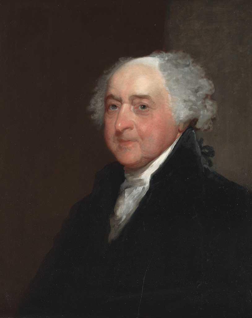 Gilbert Stuart, John Adams, 1815