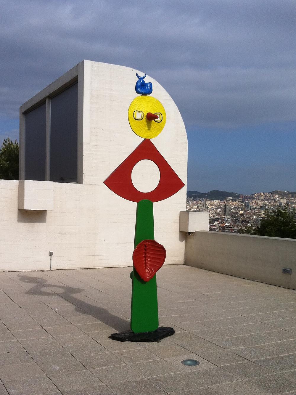 The Caress of a Bird, 1967, Joan Miró