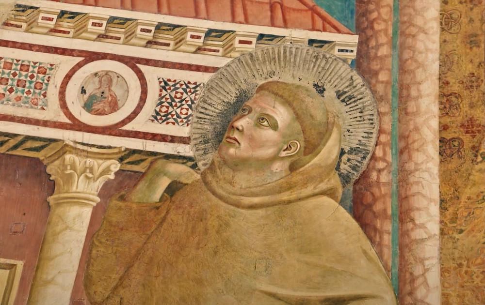 portrait of St. Francis