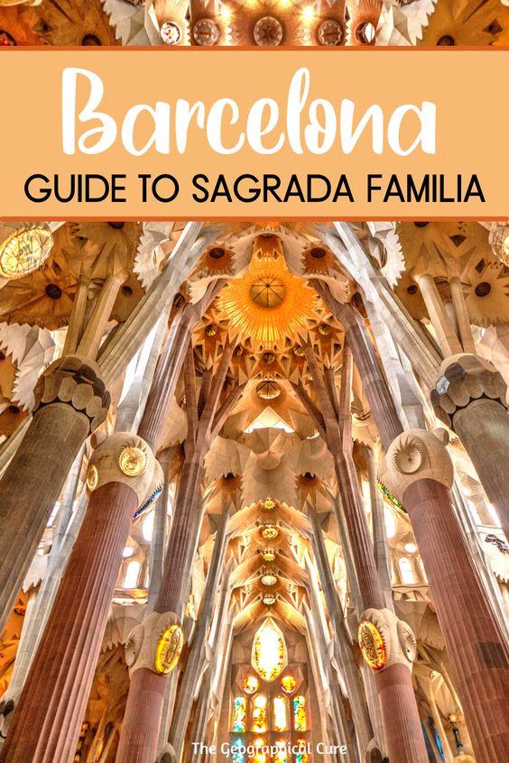 visitor's guide to Barcelona's Sagrada Familia
