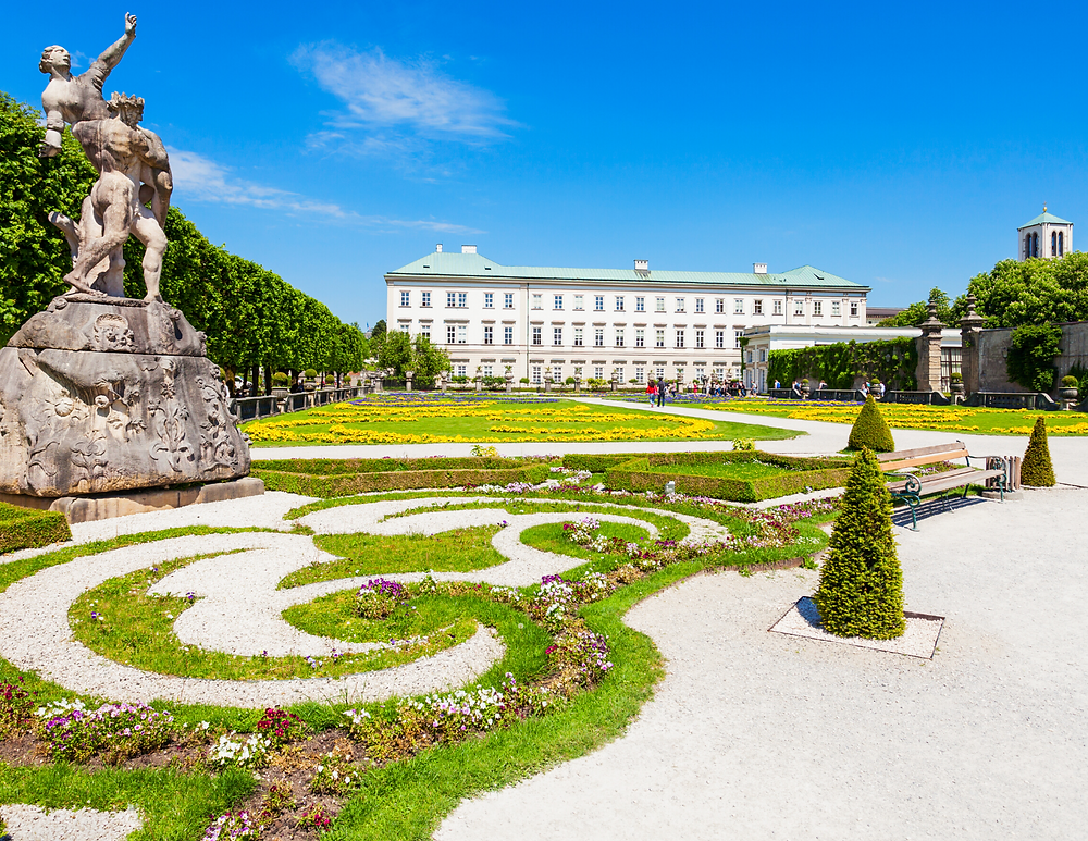 gardens of Mirabell Palace