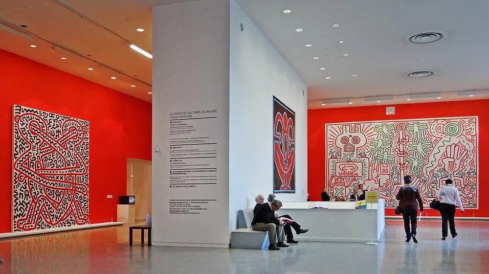 Keith Haring exhibition. Image: Jean-Pierre Dalbera