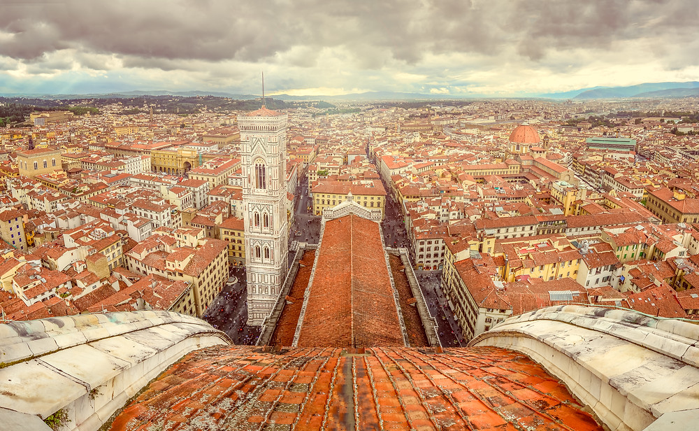 view from Brunelleschi's dome
