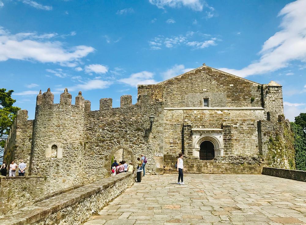 Castillo del Rey, San Vicente's 13th century medieval castle