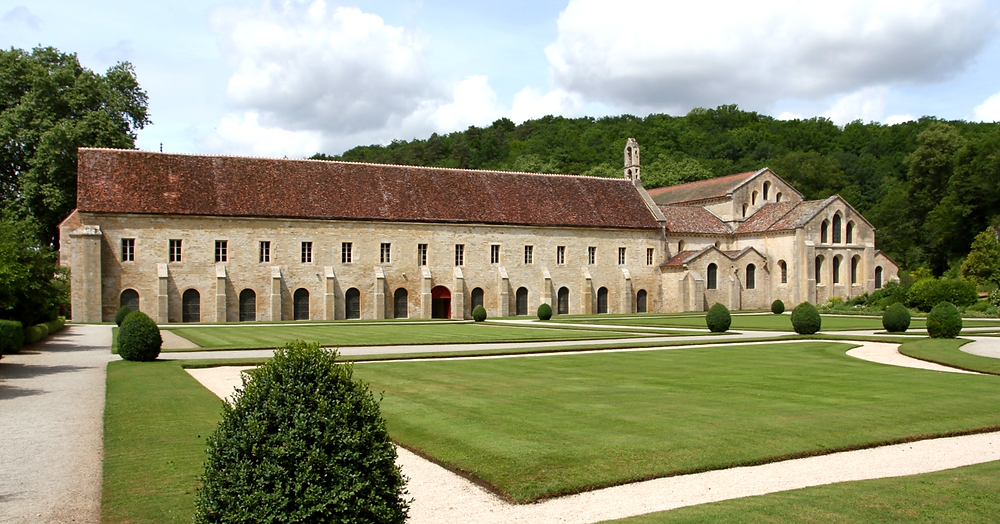 the UNESCO-listed Abbey of Fontenay